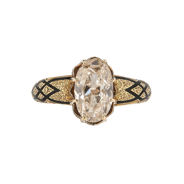 Antique Gold and Diamond Ring (Lot 1008, Estimate: $1,000-1,500)