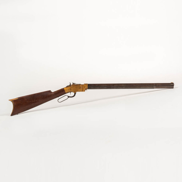 New Haven Arms Volcanic Carbine, c. 1857-60 (Estimate: $15,000-20,000)