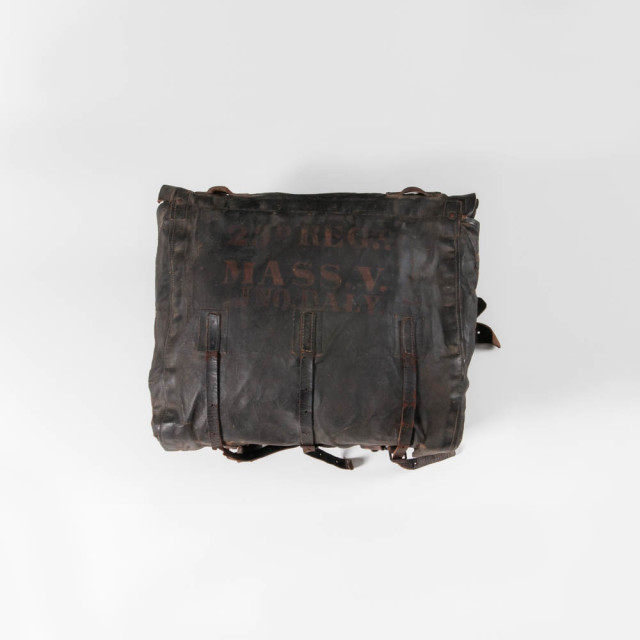 Knapsack Identified to Private John Daly, Company H, 23rd Massachusetts Volunteer Infantry, c. 1861-64 (Estimate: $800-1,200)