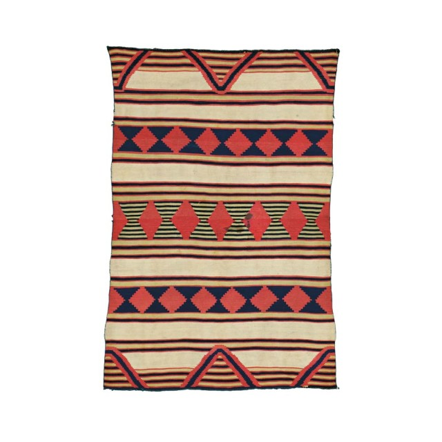 Navajo Child's Wearing Blanket (Lot 321, Estimate: $20,000-30,000)