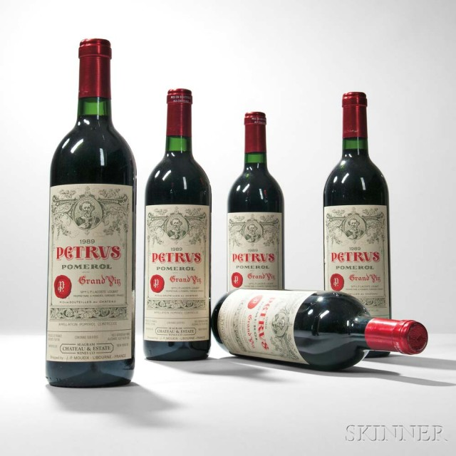 Chateau Petrus 1989 (Lot 51, Estimate: $12,500-15,000)
