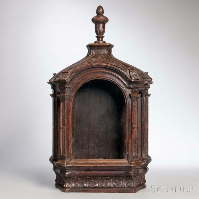 Carved Vitrine (Estimate: $200-300)