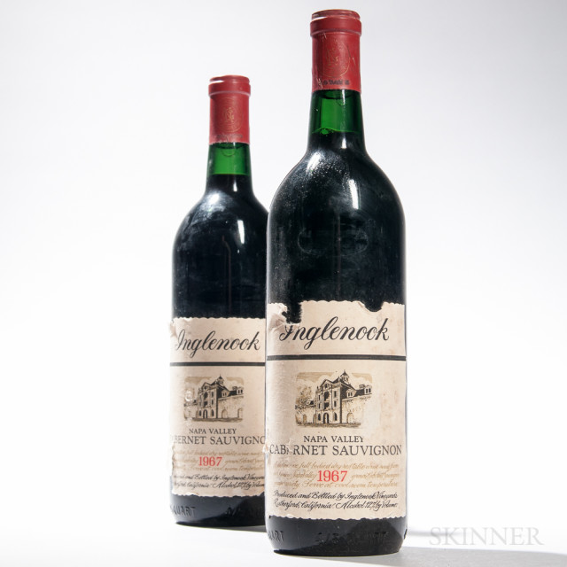 Inglenook Napa Valley Cabernet Sauvignon Estate 1967 (Lot 1527, Estimate $500-700)