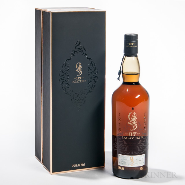 Lagavulin 37 Years Old 1976 (Lot 1763, Estimate $1,500-2,000)