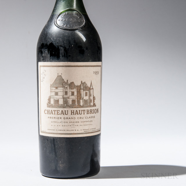 Chateau Haut Brion 1959 (Lot 1011, Estimate $1,200-1,500)
