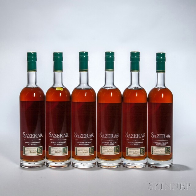 Buffalo Trace Antique Collection Sazerac Rye 18 Years Old Vertical