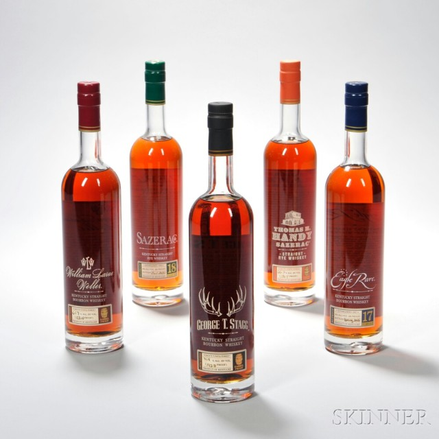 Buffalo Trace Antique Collection Horizontal, 2012 Release