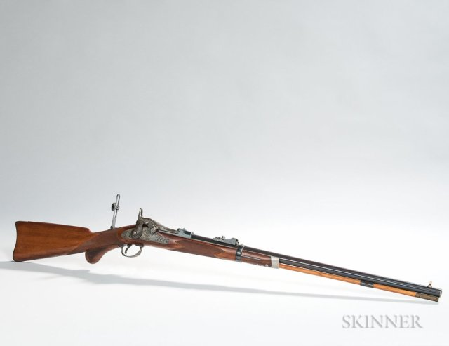 Model 1875 U.S. Trapdoor Officer's Rifle, c. 1885 (Lot 275, Estimate $25,000-35,000)