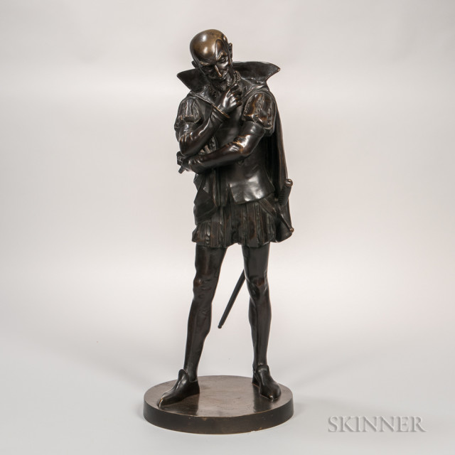 Bronze Figure of Mephistopheles by Pierre Marie Oge (French, 1817-1867) (Lot 539, Estimate: $3,000-5,000)
