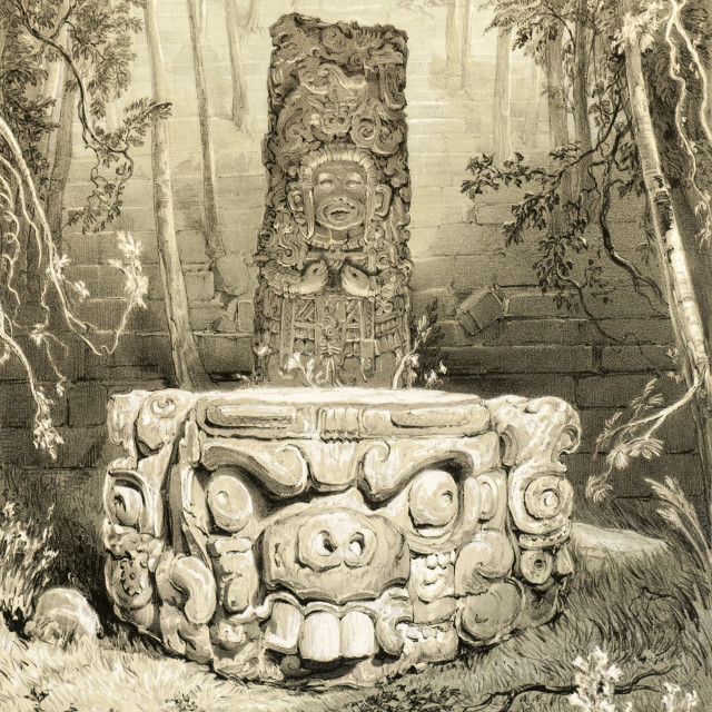 Catherwood, Frederick (1799-1854) [and] John Lloyd Stephens (1805-1852) Views of Ancient Monuments in Central America, Chiapas, and Yucatan (Lot 103, Estimate: $15,00-20,000)