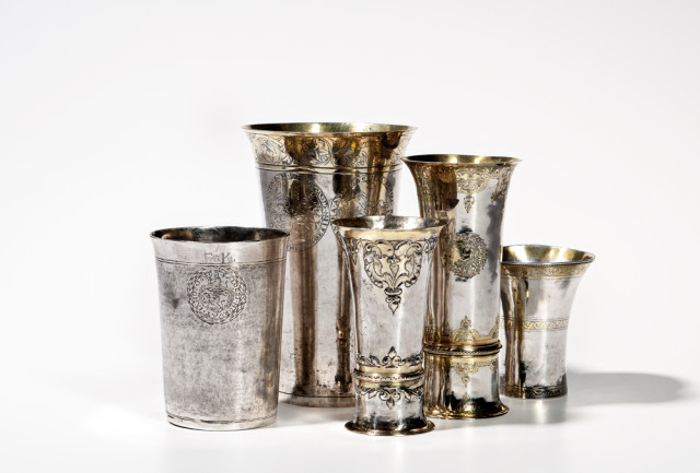 Collection of Hungarian Silver from the Estate of Francis M. Bator