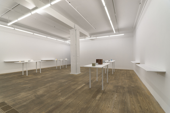 MICHAEL WANG Installation view:<br>Carbon Copies, 2012.
