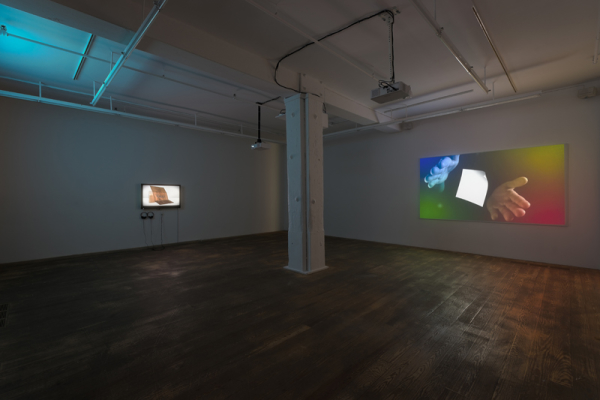 MICHAEL BELL-SMITH Installation view: <br>mbs_fp_090712, 2012.